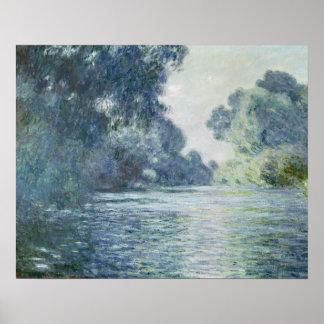 Poster Branche de Claude Monet | de la Seine près de