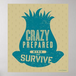 Poster Branche des trolls | - cachez et survivez à 2