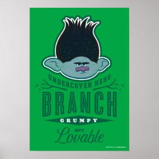 Poster Branche des trolls | - héros secret 2