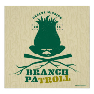 Poster Branche Patroll 2 des trolls |