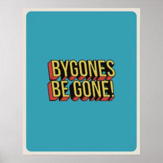 Poster Bygones soit affiche allée