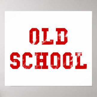Poster Cadeaux de l'affiche | Oldskool de vieille école