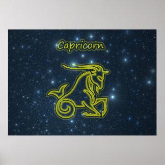 Poster Capricorne intelligent