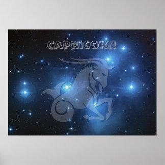 Poster Capricorne transparent
