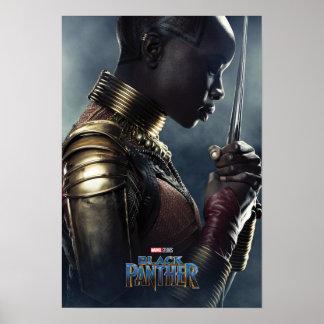 Poster Caractère de la panthère noire | Okoye