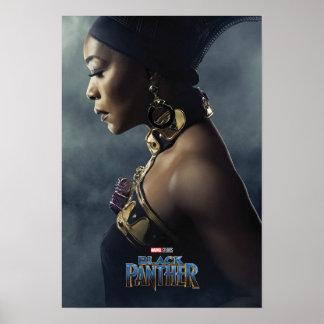Poster Caractère de la panthère noire | Ramonda