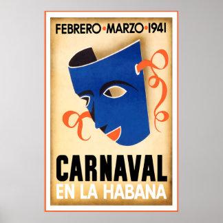 Poster Carnaval, en La Habana, affiche