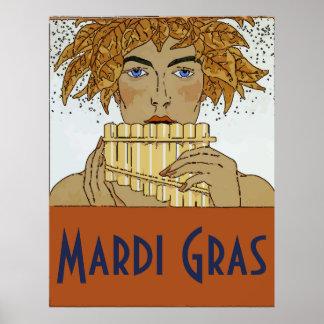 Poster Casserole de mardi gras