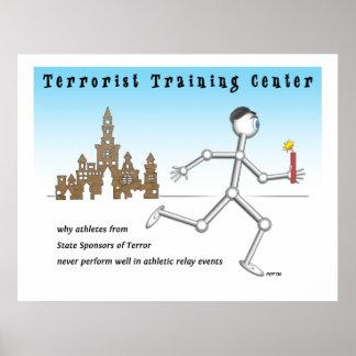 Poster Centre de formation de terroriste
