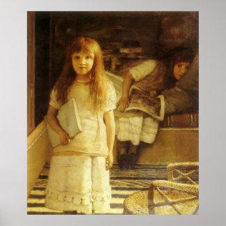 Poster C'est notre coin par monsieur Lawrence Alma Tadema