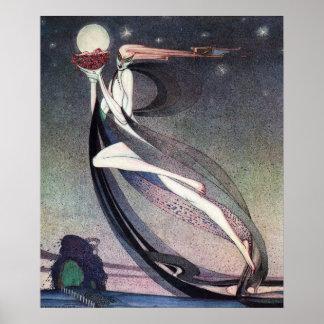 Poster Cette bonne fée par Kay Nielsen