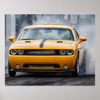 Poster Challengeur SRT de Dodge