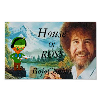 Poster Chambre d'affiche de Ross BojoChubbs