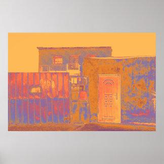 Poster Chambre urbaine