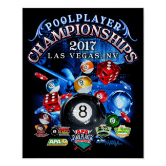 Poster Championnats 2017 d'APA Las Vegas