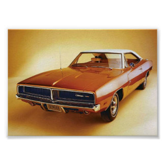 Poster Chargeur 1969 de Dodge