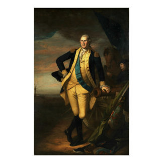 Poster Charles Willson Peale George Washington