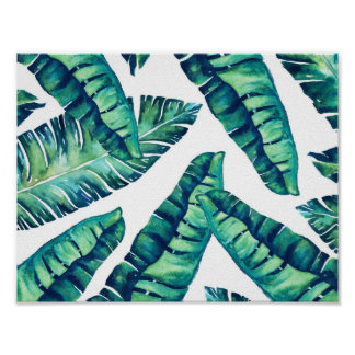 Poster Charme tropical
