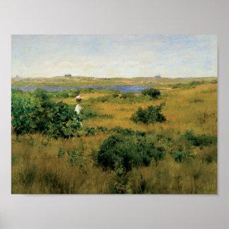 Poster Chasse de William Merritt - été aux collines de