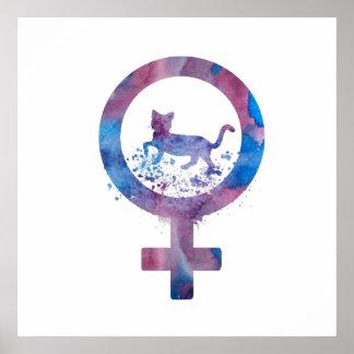 Poster Chat de Vénus