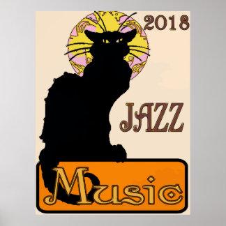 Poster Chat noir, MUSIQUE, 2018