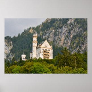 Poster Château de Neuschwanstein en Bavière Allemagne