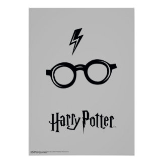 Poster Cicatrice et verres de foudre du charme | de Harry