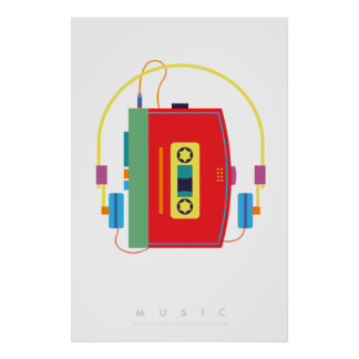 Poster Citation les années 70 80s | d'art de bruit du