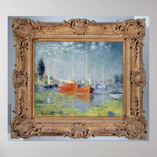 Poster Claude Monet | Argenteuil, 1875