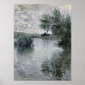 Poster Claude Monet | la Seine chez Vetheuil, 1879