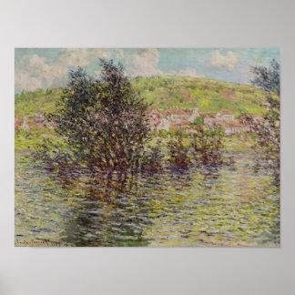 Poster Claude Monet | Vetheuil, vue de Lavacourt, 1879