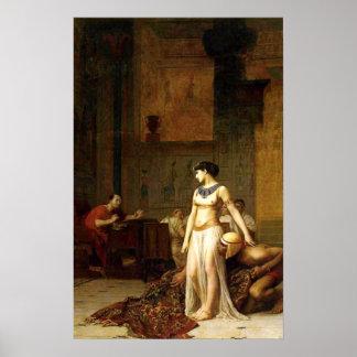 Poster Cléopâtre avant César