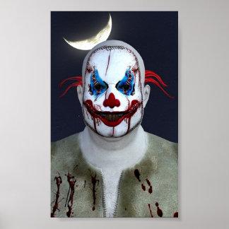 Poster Clown déplaisant