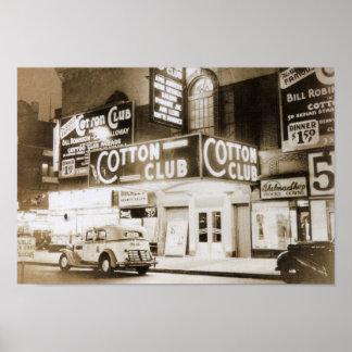 Poster Club de coton, cru de New York City