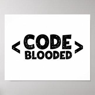 Poster Codez l'humour de programmeur de pirate