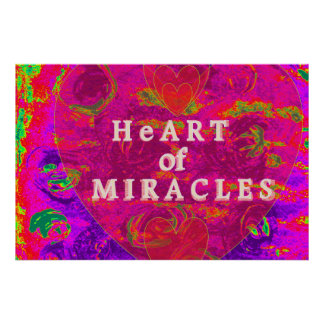 Poster Coeur des miracles