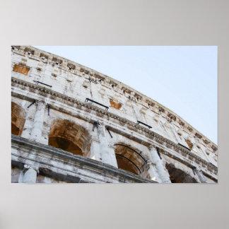 Poster Colisé romain pendant le matin