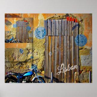 Poster Collection de voyage de Lisbonne