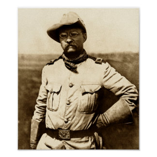 Poster Colonel Theodore Roosevelt
