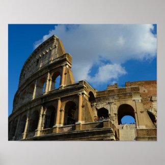 Poster Colosseum à Rome, Italie