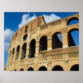 Poster Colosseum antique à Rome, Italie
