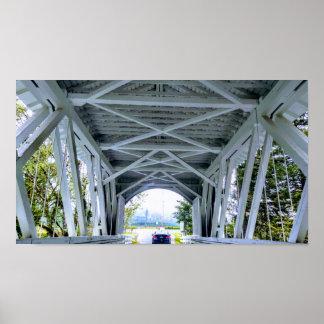 Poster Commande de pont couvert