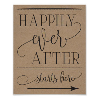 Poster Commence heureusement pour toujours à épouser ici