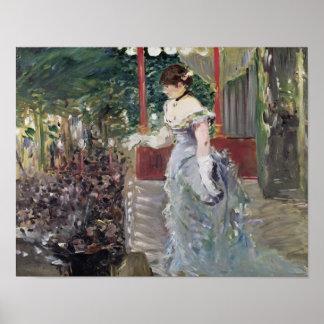 Poster Concert de café de Manet  , 1879