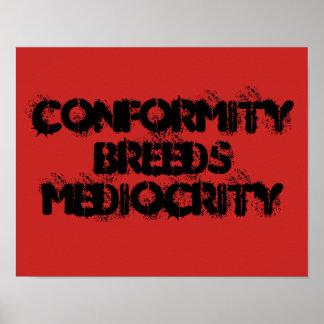 Poster Conformité