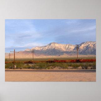 Poster Conserve nationale la Californie de Mojave