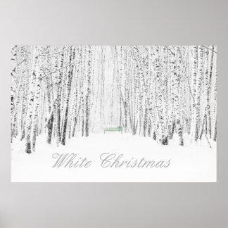 Poster Conte de Noël blanc