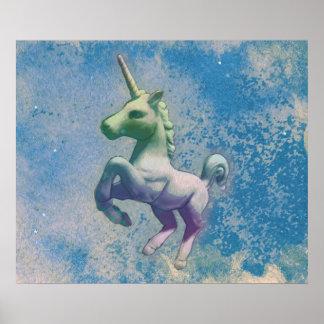Poster Copie 24x20 (Arctique bleu) d'art d'affiche de