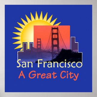 Poster Copie d'AFFICHE de SAN FRANCISCO