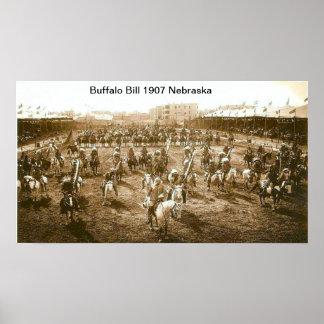 Poster Copie de Buffalo Bill 1907